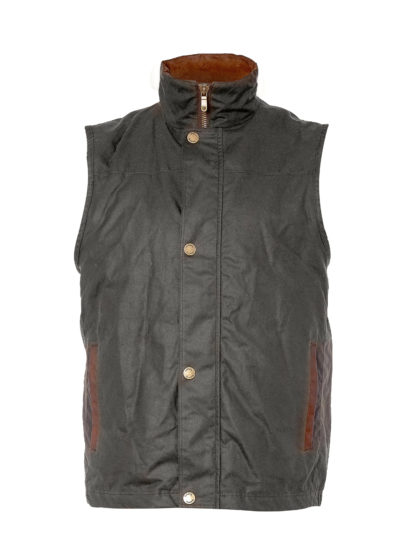 Dubarry Mayfly Wax Cotton Gilet