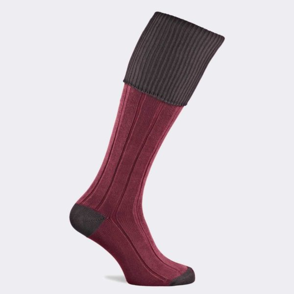 Pennine Pembroke Cotton Boot Socks