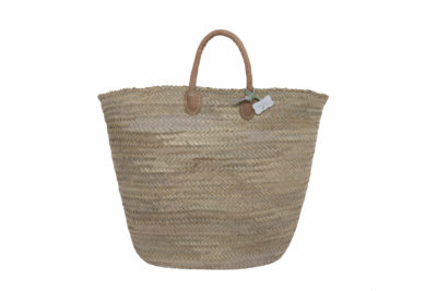 Classic French Oversized Basket Bag