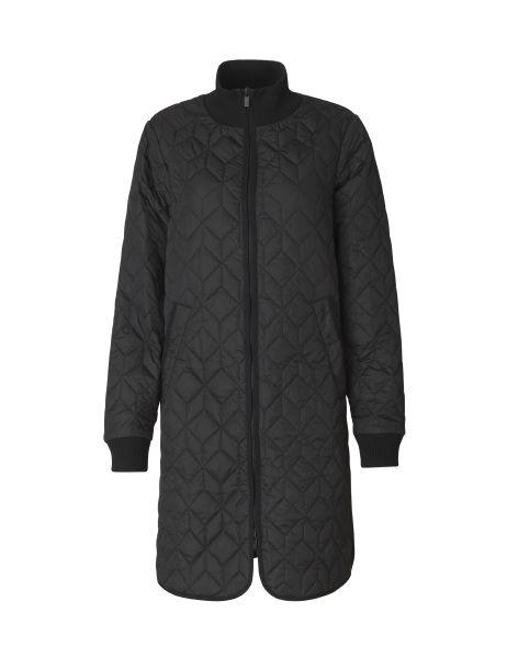 Ilse Jacobsen Art06 Quilted 3/4 Length Coat
