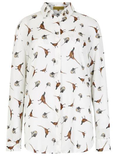 Dubarry Briarrose Pheasant Print Shirt