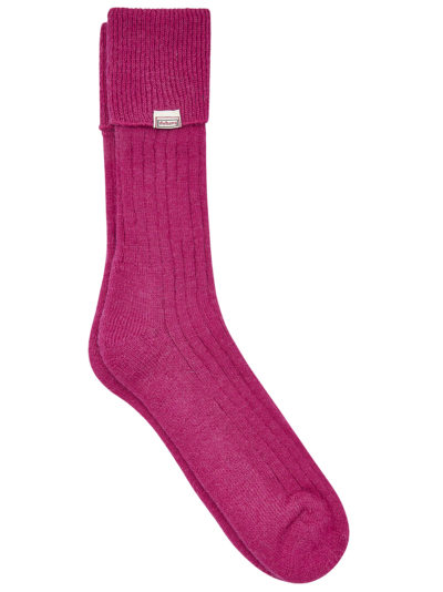 Dubarry Short Alpaca Socks Pink
