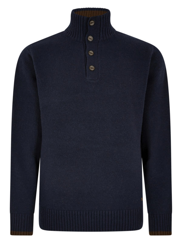 Dubarry Hughes Button Neck Sweater