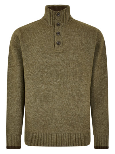 Dubarry Hughes Button Neck Sweater