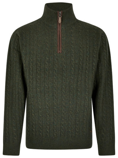 Dubarry Thompson Zip Neck Sweater