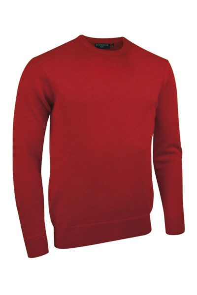 Men's Scottish Lambswool Crew Neck